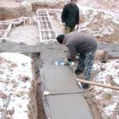 Як заливати бетон взимку