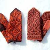 Як в'язати рукавиці двома спицями