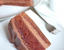 Як готувати шоколадний торт