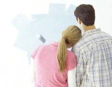 Як фарбувати стіни і стеля