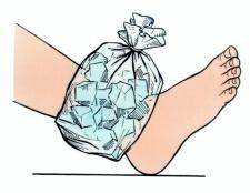 Як лікувати рану на нозі