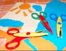 Як навчити дитину вирізати ножицями