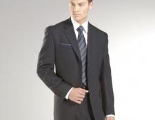 Як носити чоловічий костюм