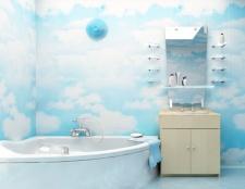 Як обшити пластиковими панелями ванну