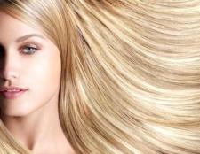 Як пофарбувати волосся на тон світліше