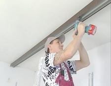 Як опустити стелю
