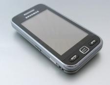 Як відкрити телефон Samsung s5230