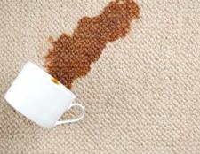 Як відіпрати плями кави