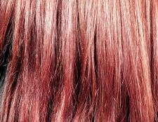 Як перефарбувати червоне волосся