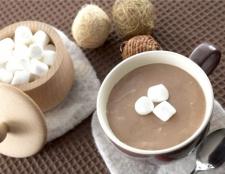 Як пити какао