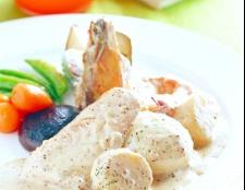 Як приготувати курку в вершковому соусі