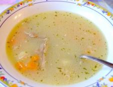 Як приготувати курячий суп-локшину