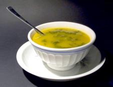 Як приготувати курячий суп з яйцями