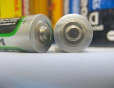 Як перевірити заряд батарейки