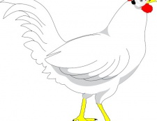 Як малювати курку