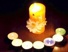 Як зробити форму для свічки