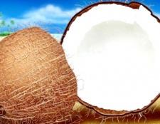 Як зробити кокосову стружку