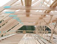 Як зробити дах на будинок