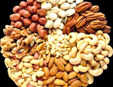 Як зберегти горіхи