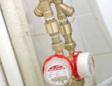 Як встановити лічильник витрати води