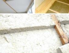 Як утеплити бетонну стелю