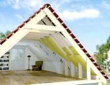 Як утеплити дах житлового будинку