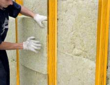 Як утеплювати стіни в гаражі
