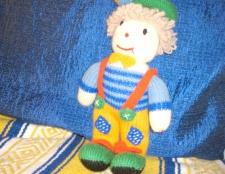 Як в'язати спицями ляльку