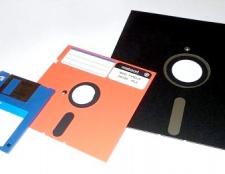 Як записати образ на дискету