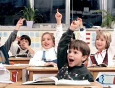 Як записати дитину в перший клас