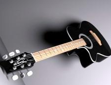 Як грати перебором на 6-струнної гітарі