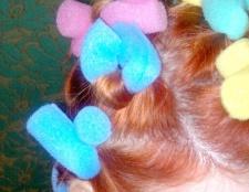 Як накручувати волосся на м'які бігуді