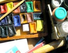Як намалювати картину фарбами