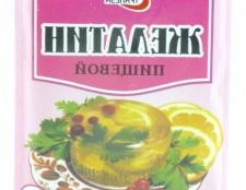 Як розводити харчової желатин