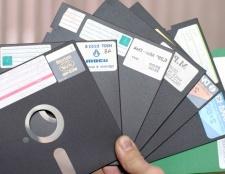 Як зробити дискету dos