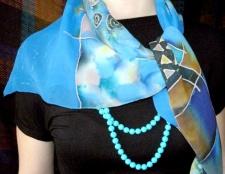 Як зав'язувати шовковий шарф