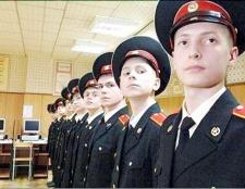 Як вчинити в московське Суворовське училище