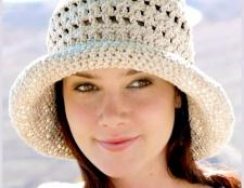 Як зв'язати гачком жіночу капелюх