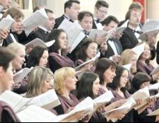 Як навчитися співати в хорі
