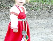 Як зшити російський сарафан для дівчинки