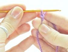 Як набрати петлі, щоб в'язати гачком