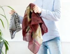 Як носити чоловічий шийну хустку